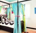 Teenage Girls Canopy Bed