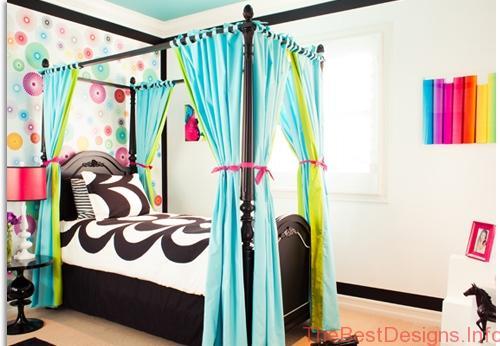 Teenage Girls Canopy Bed