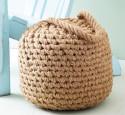 Rope pouf ottoman