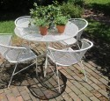 Patio chairs vintage