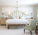 Bedroom Design In Classic Style Angelic White And Tender Colors
