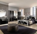 Black And Grey Modern Classic Bedroom