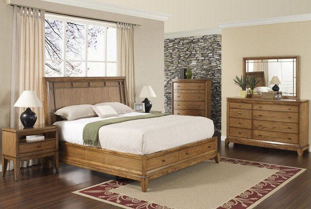 Bedroom chest storage