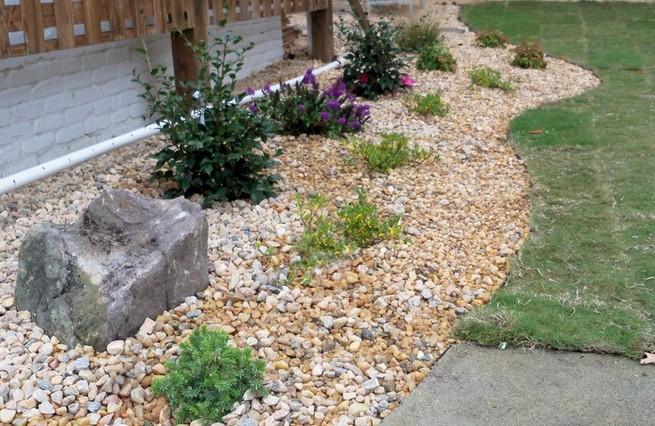 Rock Mulch Landscaping Ideas