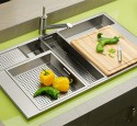 Stainless steel kitchen sink designs
