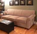 Corner settee with sofa bed