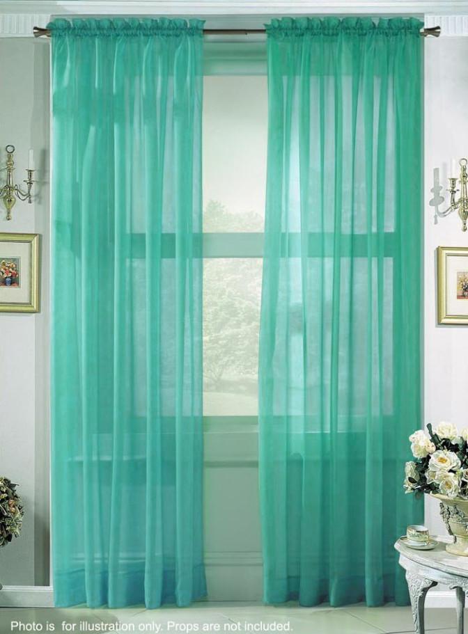 Bedroom curtain ideas for short windows