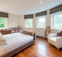Romantic bedroom curtain ideas