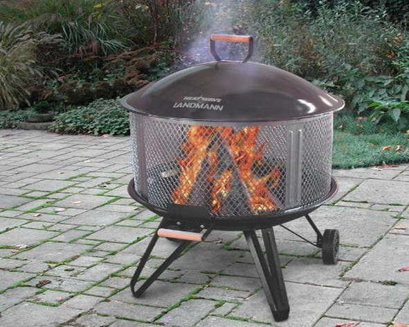 - Old Coleman Fire Pit