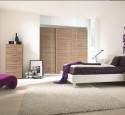 Purple bedroom wallpaper ideas