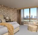 Wallpaper bedroom gold