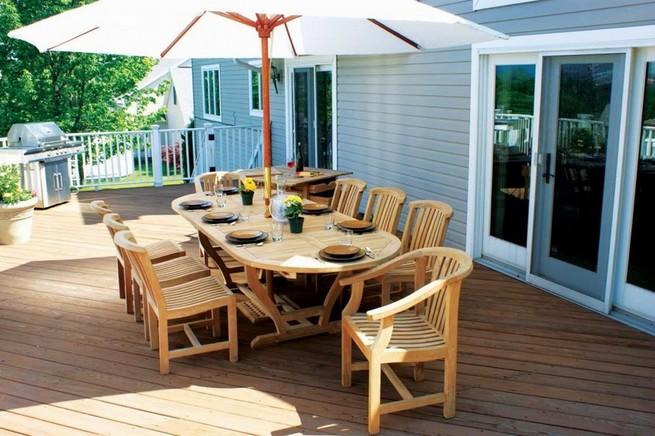 Patio chairs wood