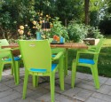 Patio chairs green