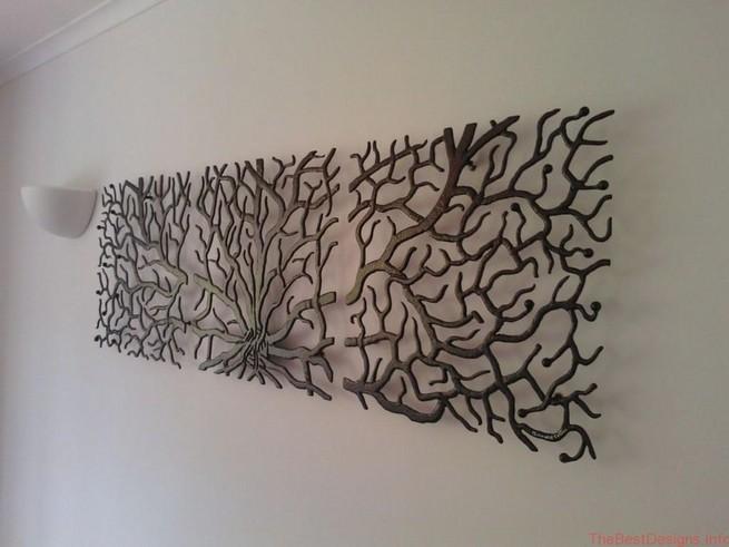 Metal Wall Art Abstract Fantasy