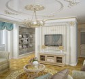 Features Of Living Rooms In Classic Style