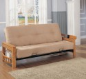 Queen size futon frame wood