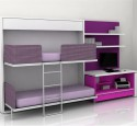 Furniture for a teenage bedroom