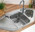 Corner kitchen sink designs