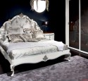 Bedroom Design In Classic Style Dark And White Interior