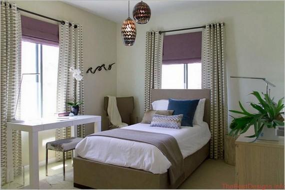 Window Treatment Ideas Modern Bedroom