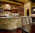 French country kitchen rustic