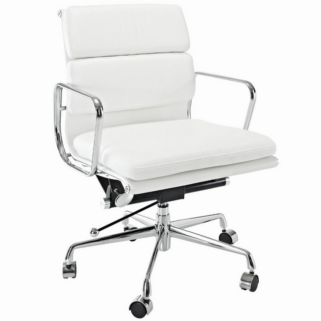 Choosing elegant white computer chair