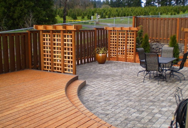 Types and shapes of patio enclosures for Rustic outdoor privacy screens