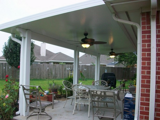 Aluminum Patio Awnings Michigan