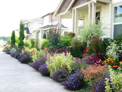 Delicieux Front Yard Garden Bed Ideas