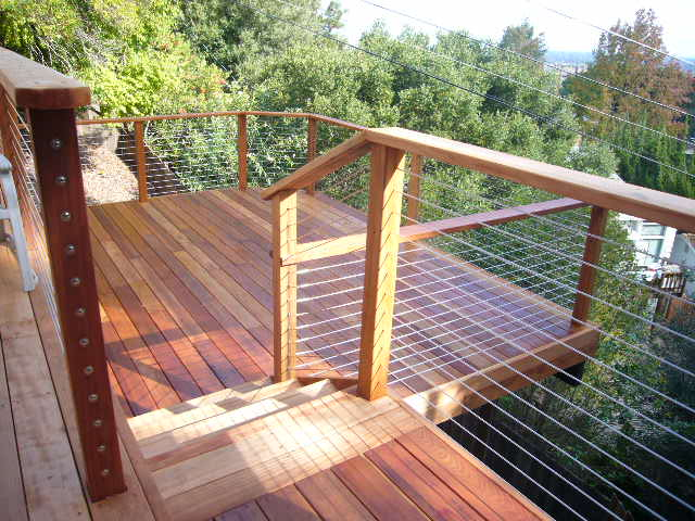 Home Depot Wire Deck Railing