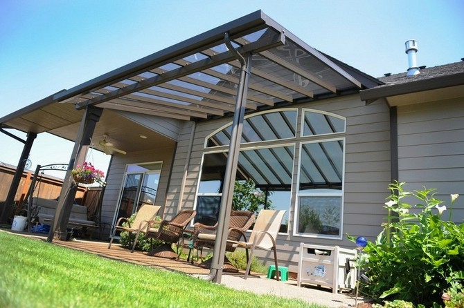 Aluminum Patio Awning Posts