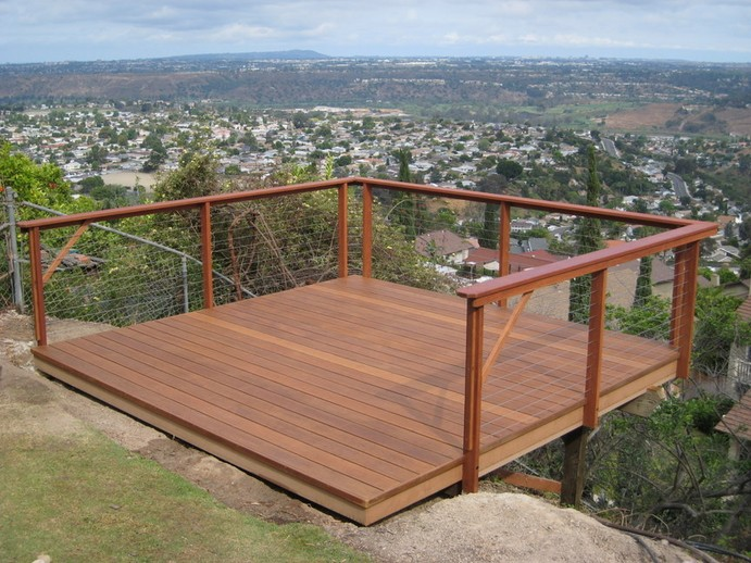Wire Deck Railing Variation Designs For Home