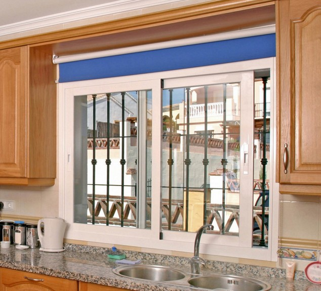 Simple Window Treatments For Kitchen