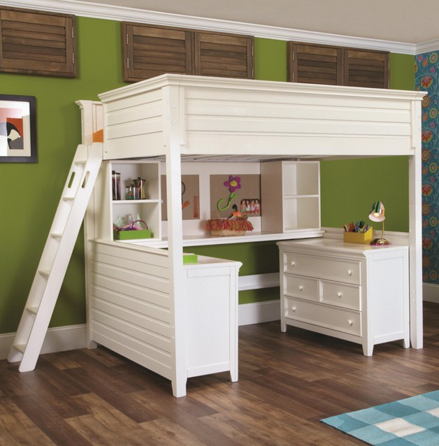 Loft Bed With Desk Images