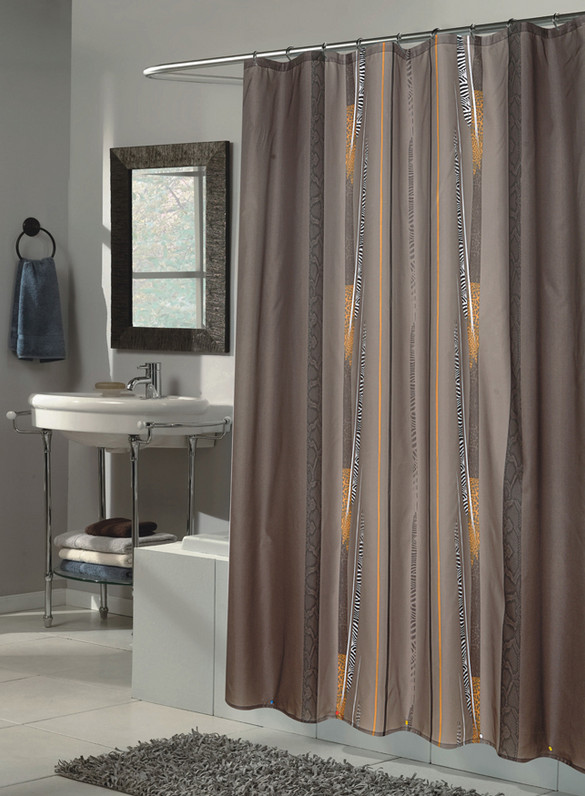 Long Length Shower Curtains