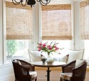 Kitchen Nook Window Treatments