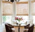 Kitchen Nook Window Treatments