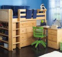 Loft Beds With Desk Real Wood