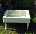 Shadow Box Glass Coffee Table