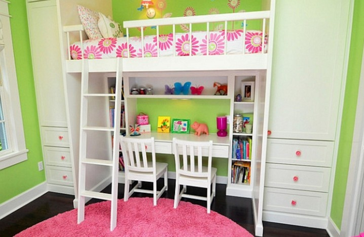 Loft Bed With Desk Space