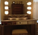Lighted Makeup Mirror Vanity Table