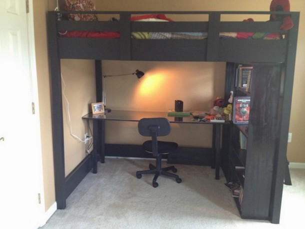Loft Bed With Desk Combo