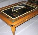 Military Retirement Shadow Box Table