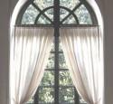 Diy Half Round Window Treatments
