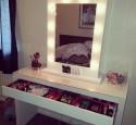 Broadway Lighted Vanity Makeup Desk