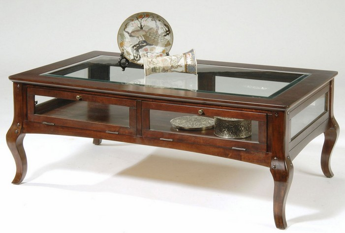 Vintage Shadow Box Coffee Table