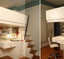 Loft Bed With Desk Used