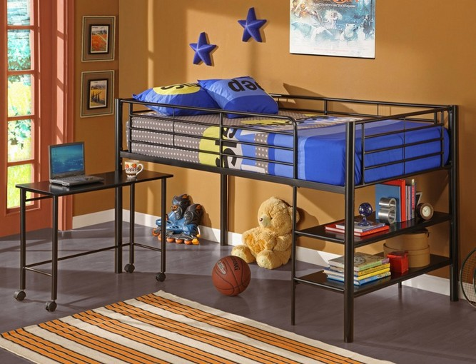 Features Of Loft Bed With Desk