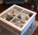 Window Shadow Box Table