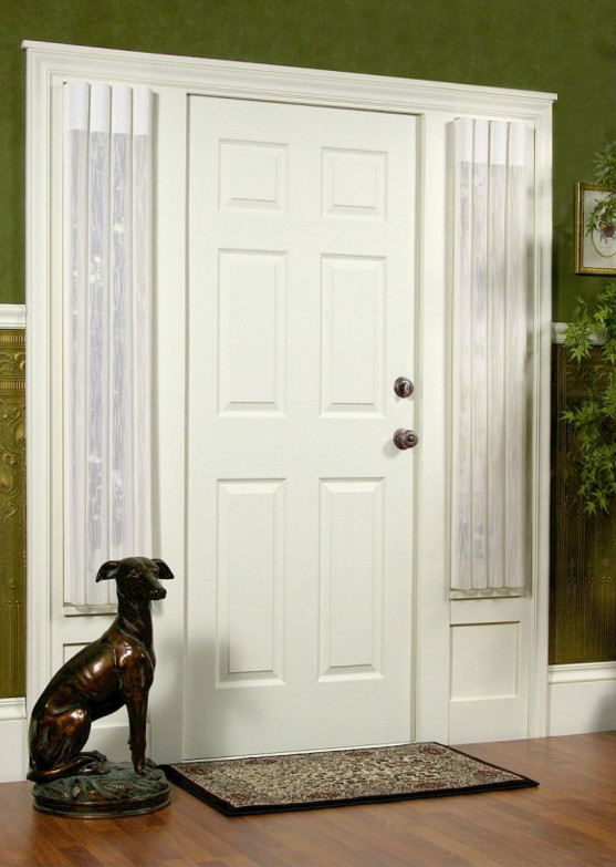 Side Light Entry Door Window Treatments